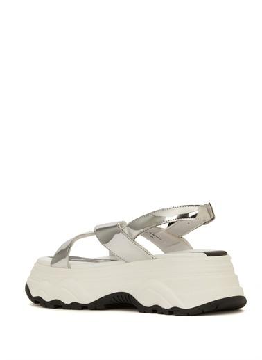 F_Wd Spor Sandalet Gümüş
